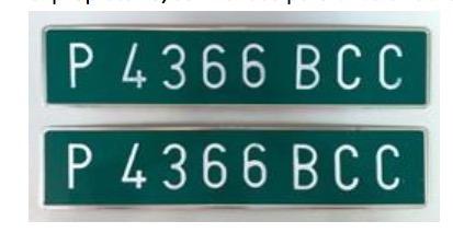 placas verdes