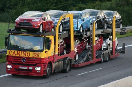 transportar vehículo desde Alemania